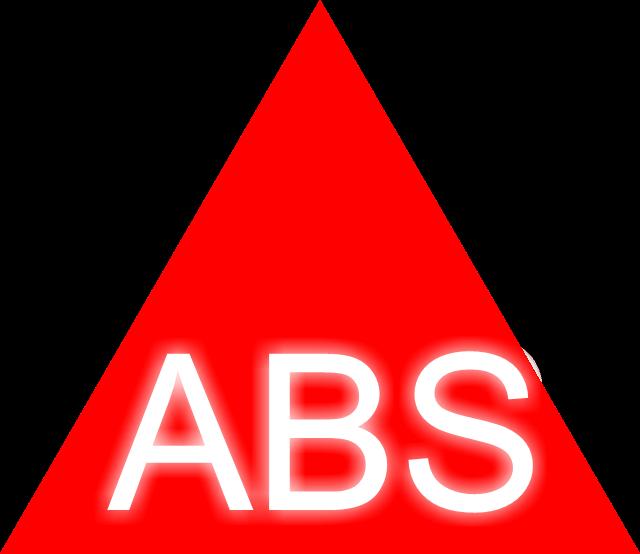 ABS valo palaa